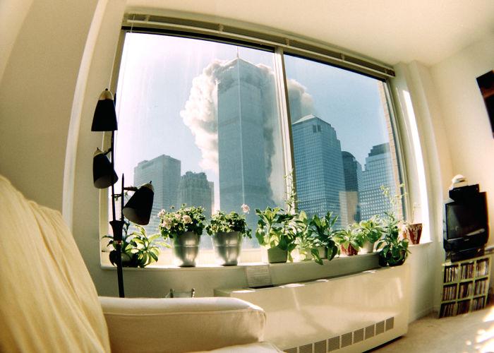 Фотографии 9/11, которые редко встречаются в сети