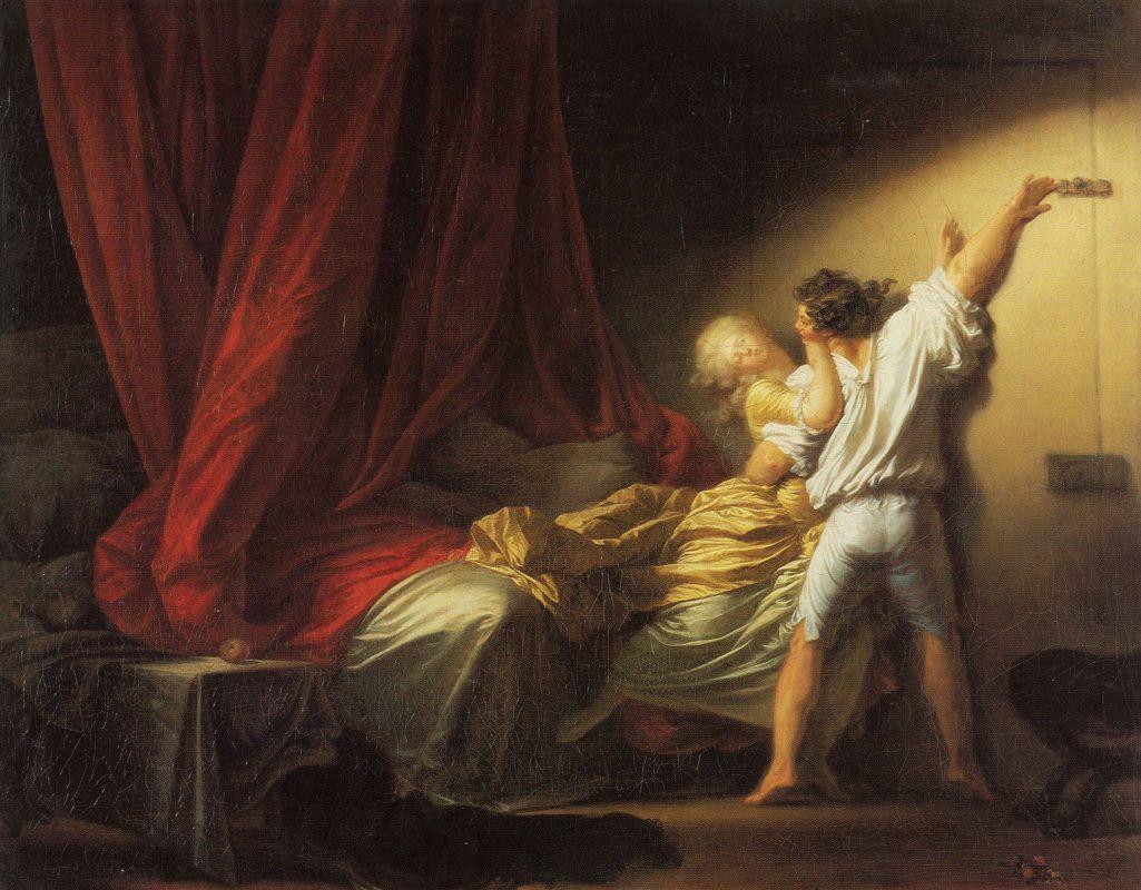 Мастер игриво-эротических картин — Фрагонар