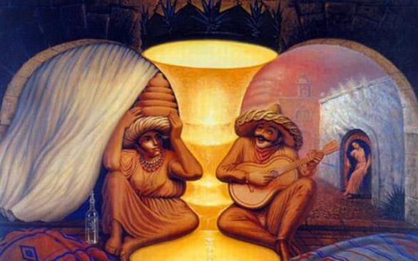 6 необычных картин-иллюзий: а что видите Вы