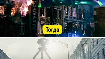 Современные спецэффекты преображают фильмы до неузнаваемости: смотрите 15 ярких примеров