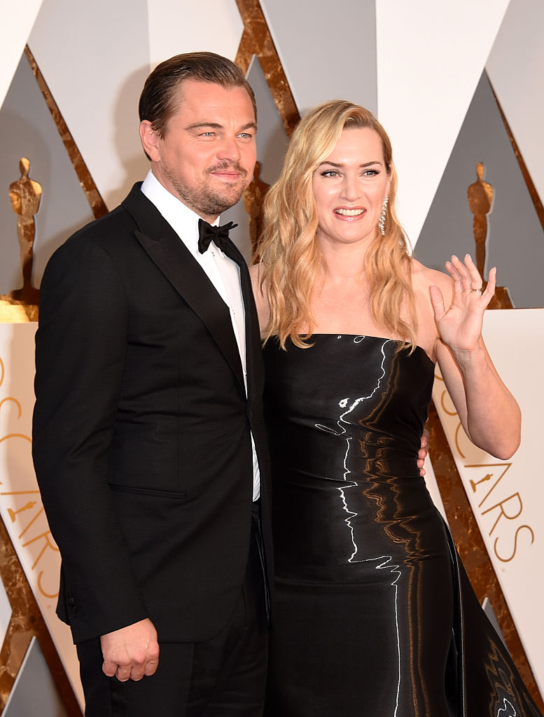 HOLLYWOOD, CA - FEBRUARY 28:  Actors Leonardo DiCaprio and Kate Winslet attend the 88th Annual Academy Awards at Hollywood & Highland Center on February 28, 2016 in Hollywood, California.  (Photo by Jason Merritt/Getty Images)
