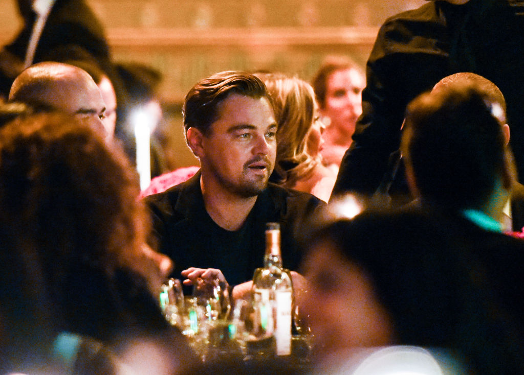 NEW YORK, NY - SEPTEMBER 12:  Leonardo DiCaprio attends Unitas Third Annual Gala Against Human Trafficking at Capitale on September 12, 2017 in New York City.  (Photo by Noam Galai/Getty Images for UNITAS)