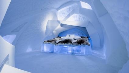 Знаменитый Ледяной отель в Лапландии