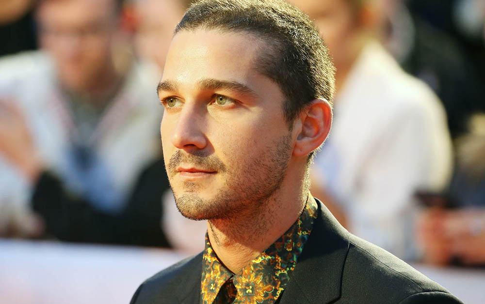 TORONTO, ON - SEPTEMBER 07:  Shia LaBeouf attends the 'Borg/McEnroe' premiere - 2017 TIFF - Premieres, Photo Calls and Press Conferences held during the 2017 Toronto International Film Festival on September 7, 2017 in Toronto, Canada.  (Photo by Michael Tran/Getty Images)