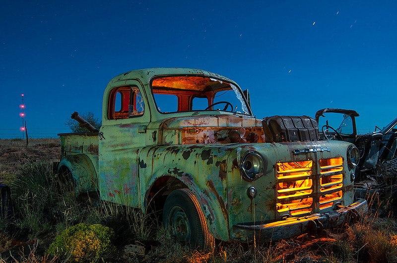 Заброшенная Америка на снимках Noel Kerns: всё как в фильмах про Дикий Запад