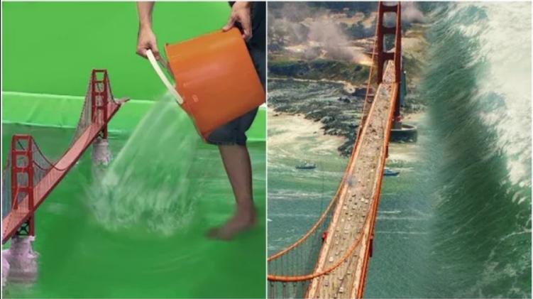 Новая подборка: как выглядят фильмы до добавления спецэффектов
