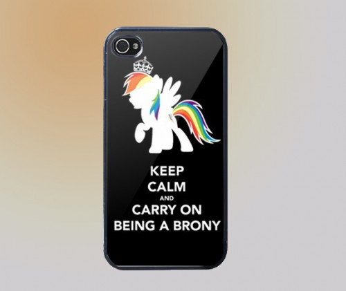 keep_calm_and_carry_on_being_a_brony_iphone_4_iphone_4s_case_-_black_199860c1