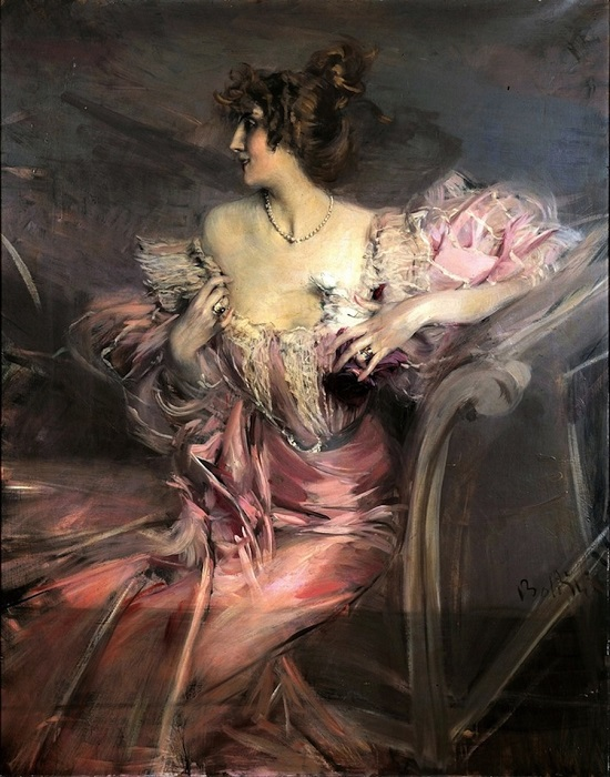 "Image: 0081544778, License: Rights managed, RESTRICTED TO EDITORIAL USE - MANDATORY CREDIT ""AFP/MARC OTTAVI""   TO GO WITH AFP STORY BY MARIE-NOELLE BLESSIG - This recent handout picture released by French art expert house Marc Ottavi shows a painting by Italian artist Giovanni Boldini found in June 2010 by an auctionner in a flat which was closed since her owner, who moved to southern France before the war, never returned to her Paris flat and died at the age of 91. The painting represents ""demimondaine"" Marthe de Florian, the owner's grandmother, and was sold for record price of 2,1 million euros at Drouot saleshouse on September 2010, 28.  / MARC OTTAVI, Place: Paris,FRANCE, Model Release: No or not aplicable, Credit line: ., AFP"