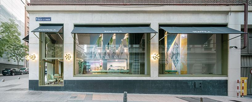Romola — мраморный ресторан в центре Мадрида