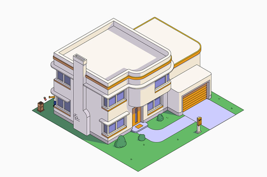 simpsons-house-architectural-styles-designboom-08-5a10c0349b294__880