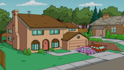 Чтобы случилось, если Гомер Симпсон нанял архитекторов, чтобы построить свой дом?