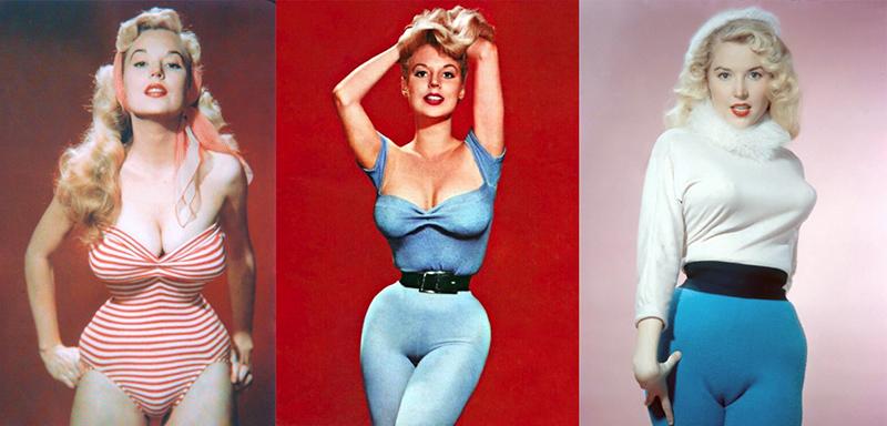 Как выглядела самая узкая талия и желанная женщина Голливуда 50-х