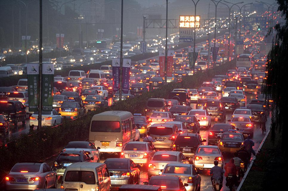 Понедельник близко: самые «мертвые» автомобильные пробки в мире