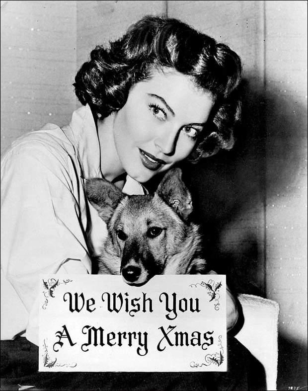 Рождественские портреты самых красивых женщин ХХ века, фото-1