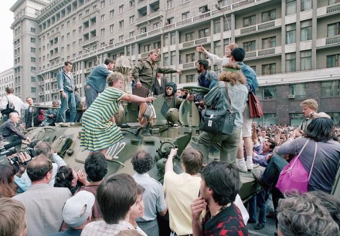 Последние фотографии СССР: каким был последний год существования Советского Союза