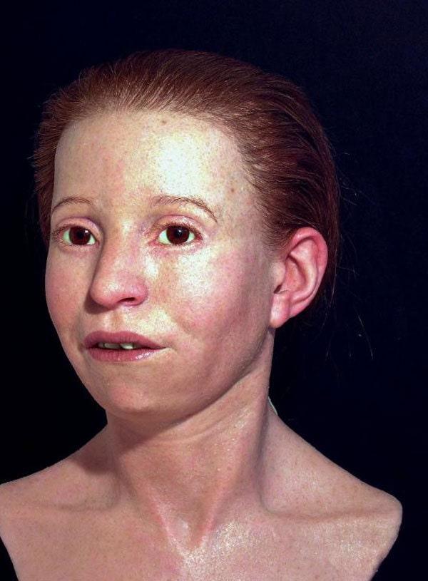 Учёные воссоздали лицо древнегреческой девушки