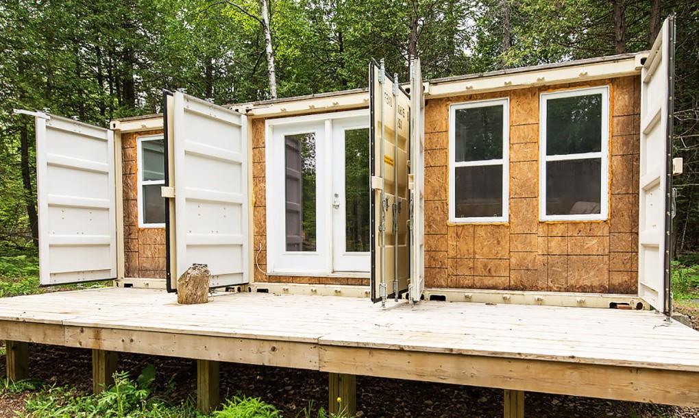 Этот парень построил дом, в котором можно комфортно жить при лютых — 42 градусах