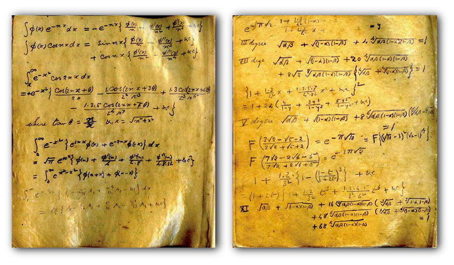 NoteBook-Ramanujan