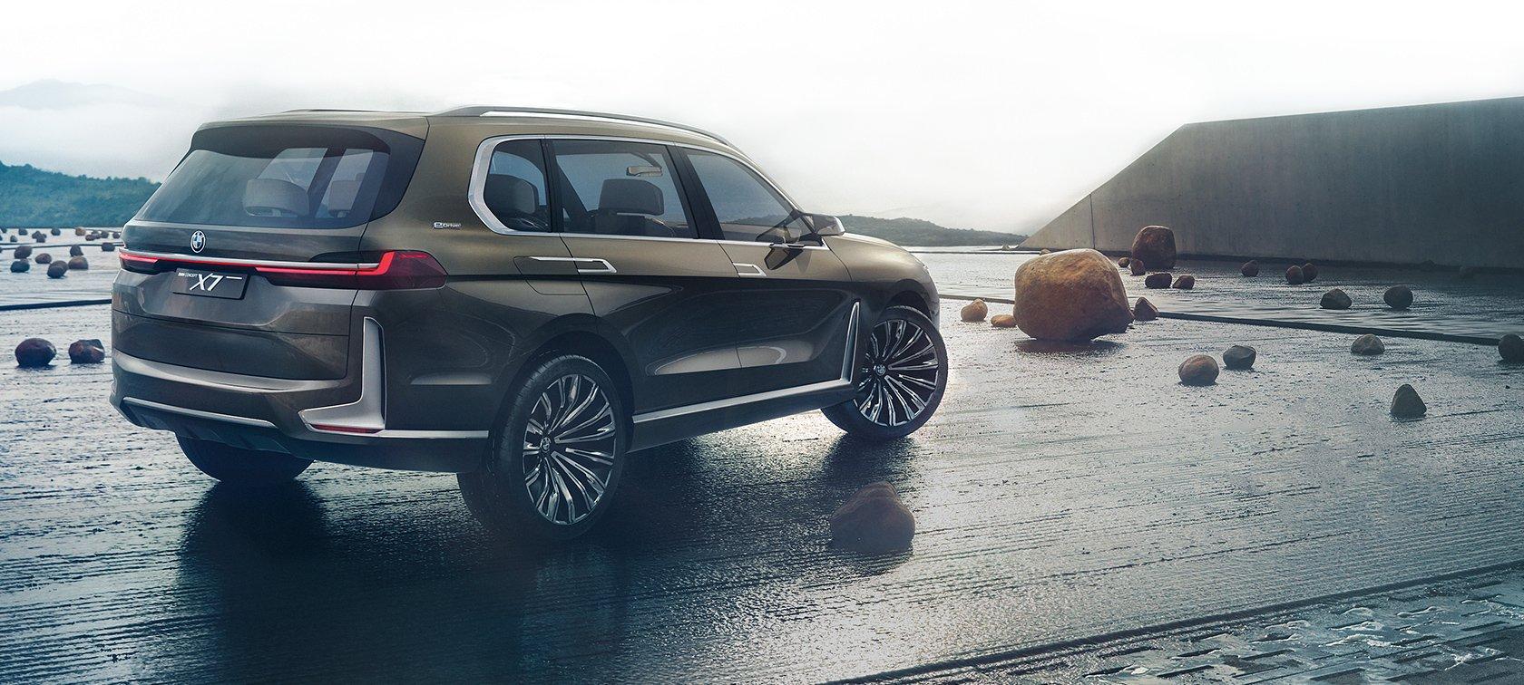 Новый огромный кроссовер BMW X7
