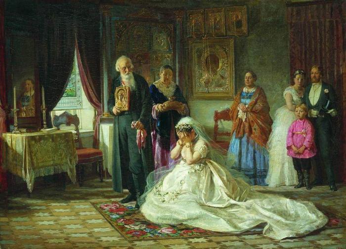 Печальные невесты на картинах русских живописцев: замуж невтерпёж