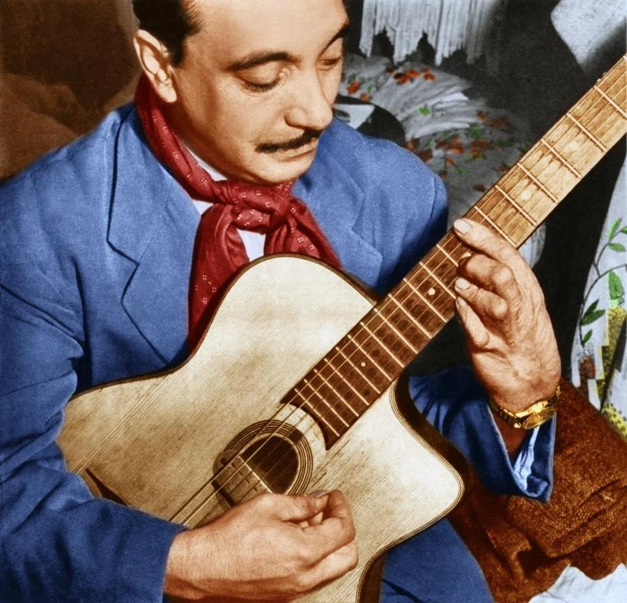Великий гитарист Джанго Рейнхардт