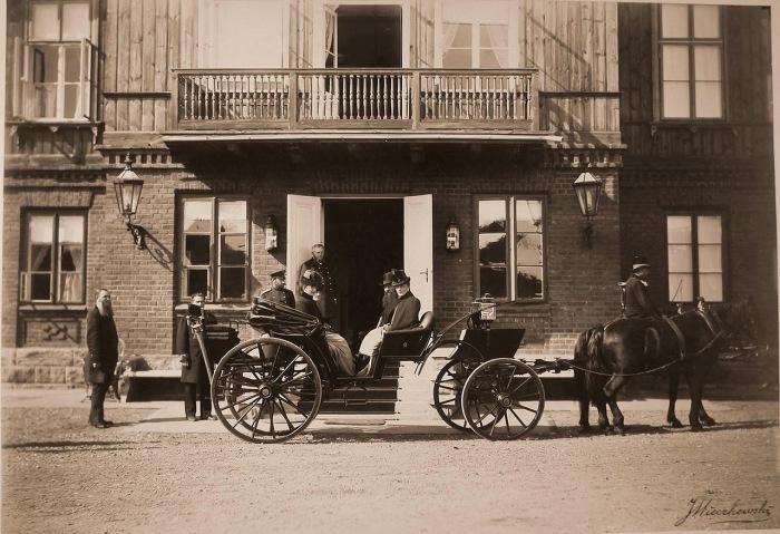 Редкие фотографии, сделанные во время царской охоты в 1894 году