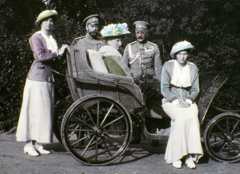 Самые последние фотографии семьи Романовых