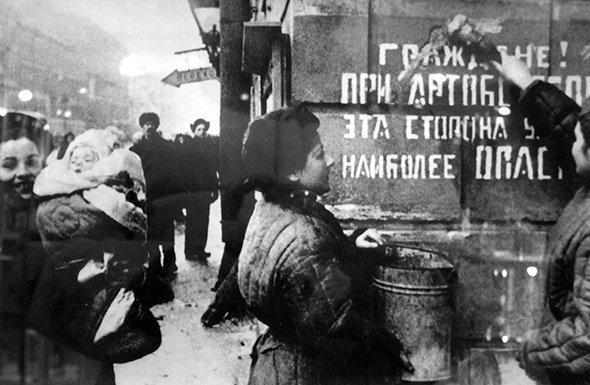 1944 год, блокада Ленинграда снята