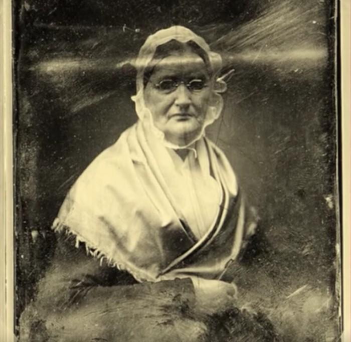 Портрет мадам Монье.
