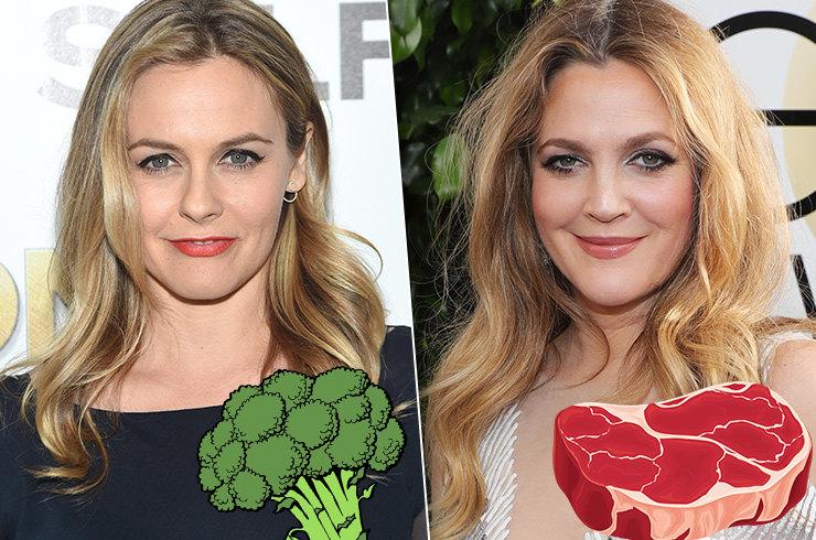 Кто выглядит лучше: Вегетарианки против мясоедок
