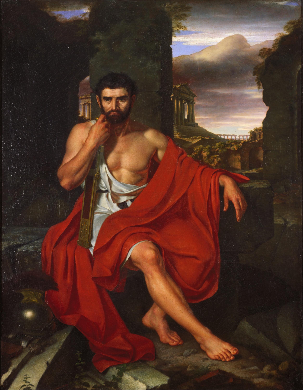 Изгнанный Гай Марий на развалинах Карфагена