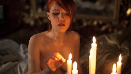 Откровенный и красивый косплей Шани из The Witcher 3