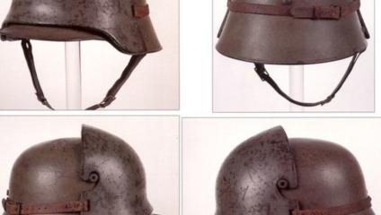 Зачем на немецких касках «рога»?