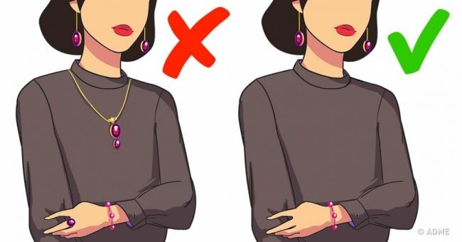 14 золотых правил в ношении одежды