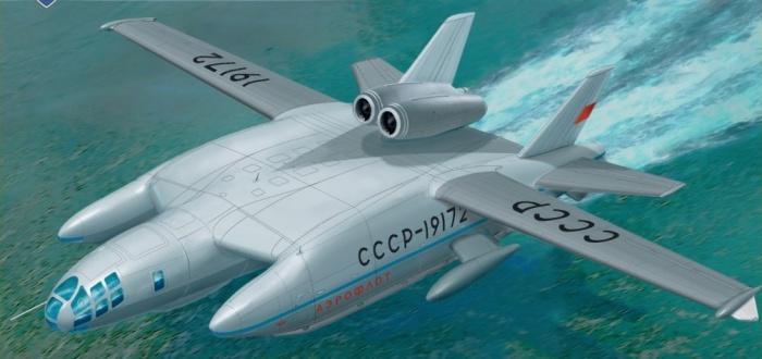 Несмотря на надпись на фюзеляже, ВВА-14 никогда не летал за Аэрофлот.