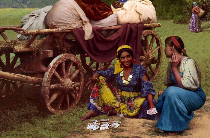 Цыганская жизнь, запечатленная на киноплёнке