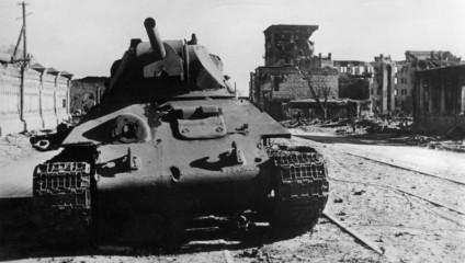 Кадры выживания людей во время Сталинградской битвы
