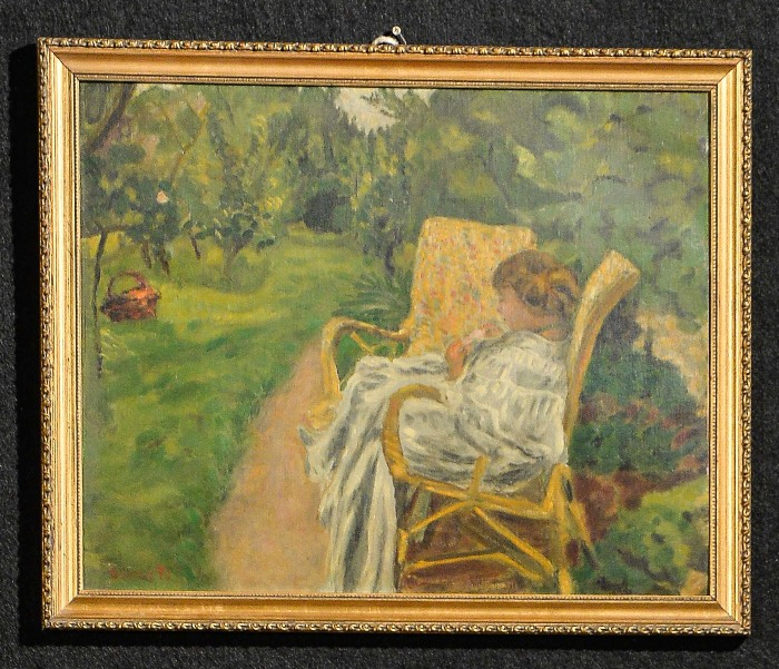 Пьер Боннар. Женщина с двумя креслами