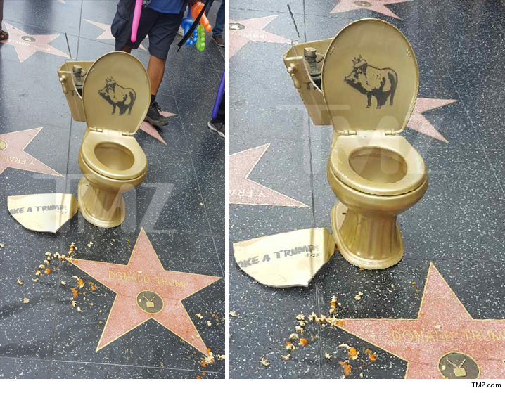 donald-trumps-hollywood-star-vandalized-with-golden-toilet-photos-2