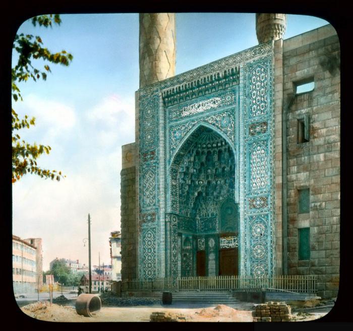 Вход в мечеть, Ленинград.