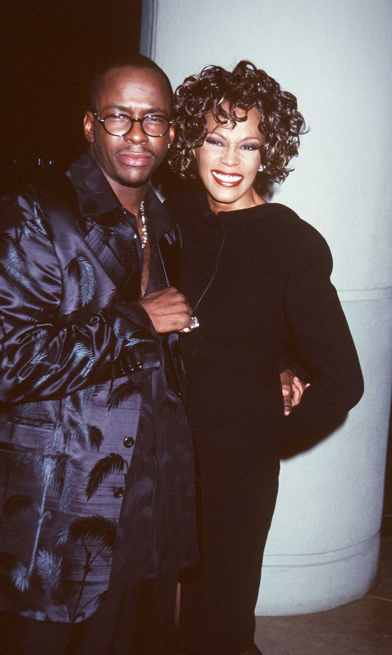 9/28/97 Beverly Hills, CA. Bobby Brown and Whitney Houston at the Third Annual International Achievement In Arts Awards.