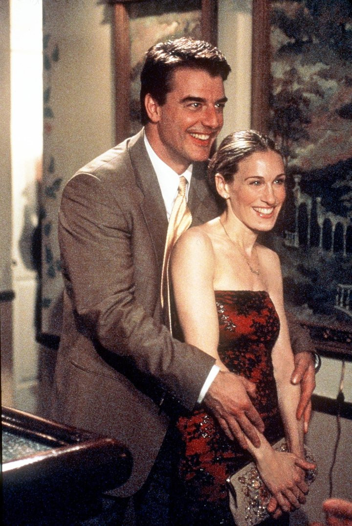 "Chris Noth and Sarah Jessica Parker star in ""Sex And The City"" (""The Man, The Myth, The Viagra"" episode). 1999 Paramount Pictures"