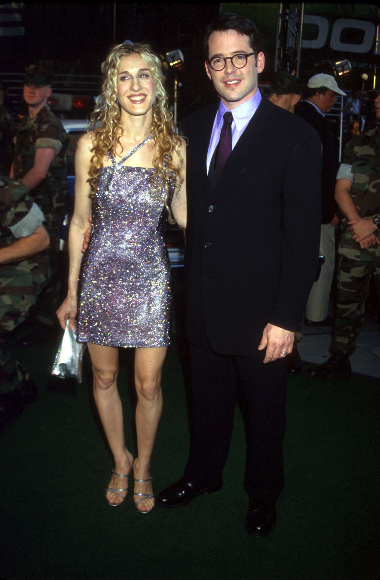 UNDATED FILE PHOTO: Sarah Jessica Parker and Matthew Broderick. (Photo by Diane Freed)