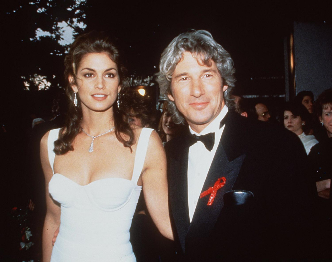 1993 Cindy Crawford and Richard Gere. Stock photo. Photo by Brenda Chase/Online USA, Inc.