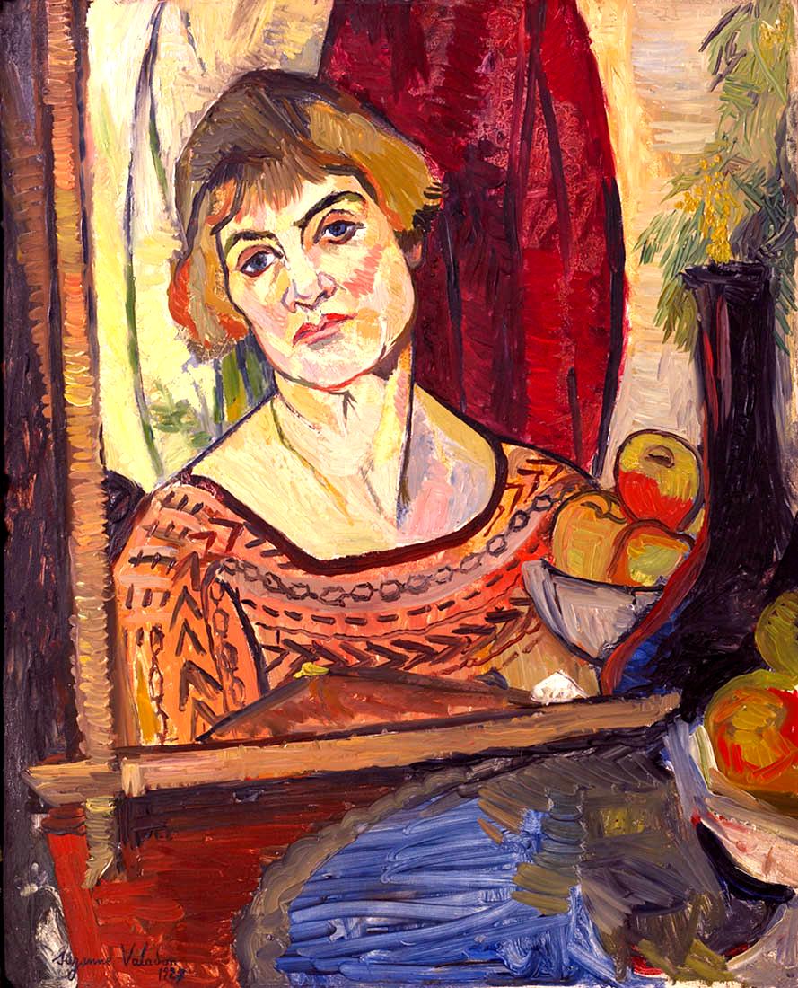 Сюзанна Валадон. Автопортрет