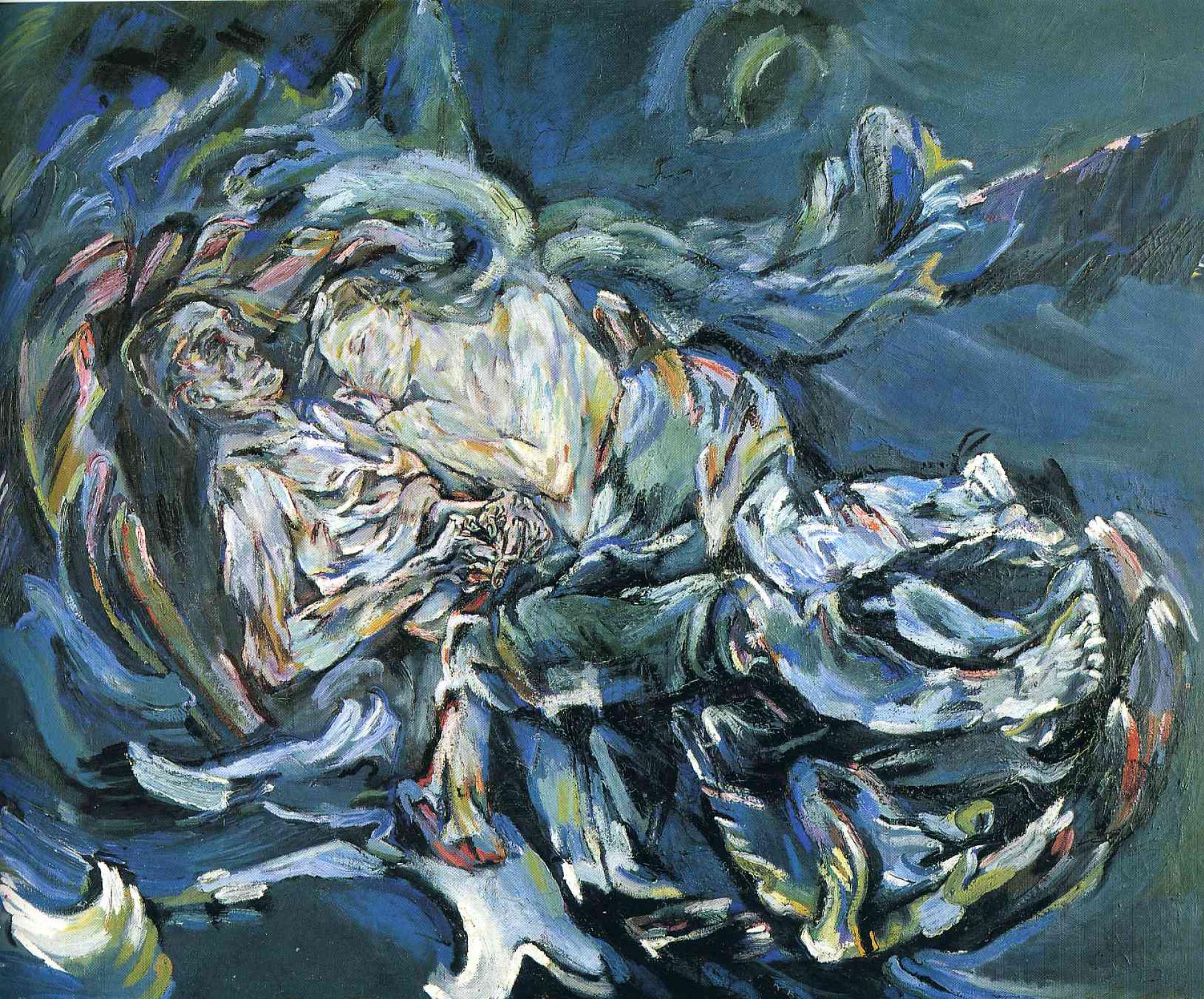 Невеста ветра, Оскар Кокошка
