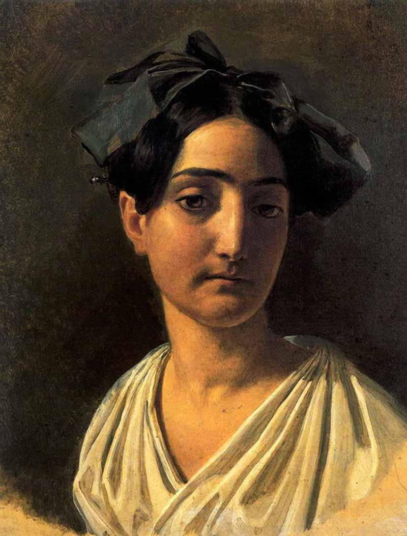 Портрет Виттории Кальдони (Лапченко)