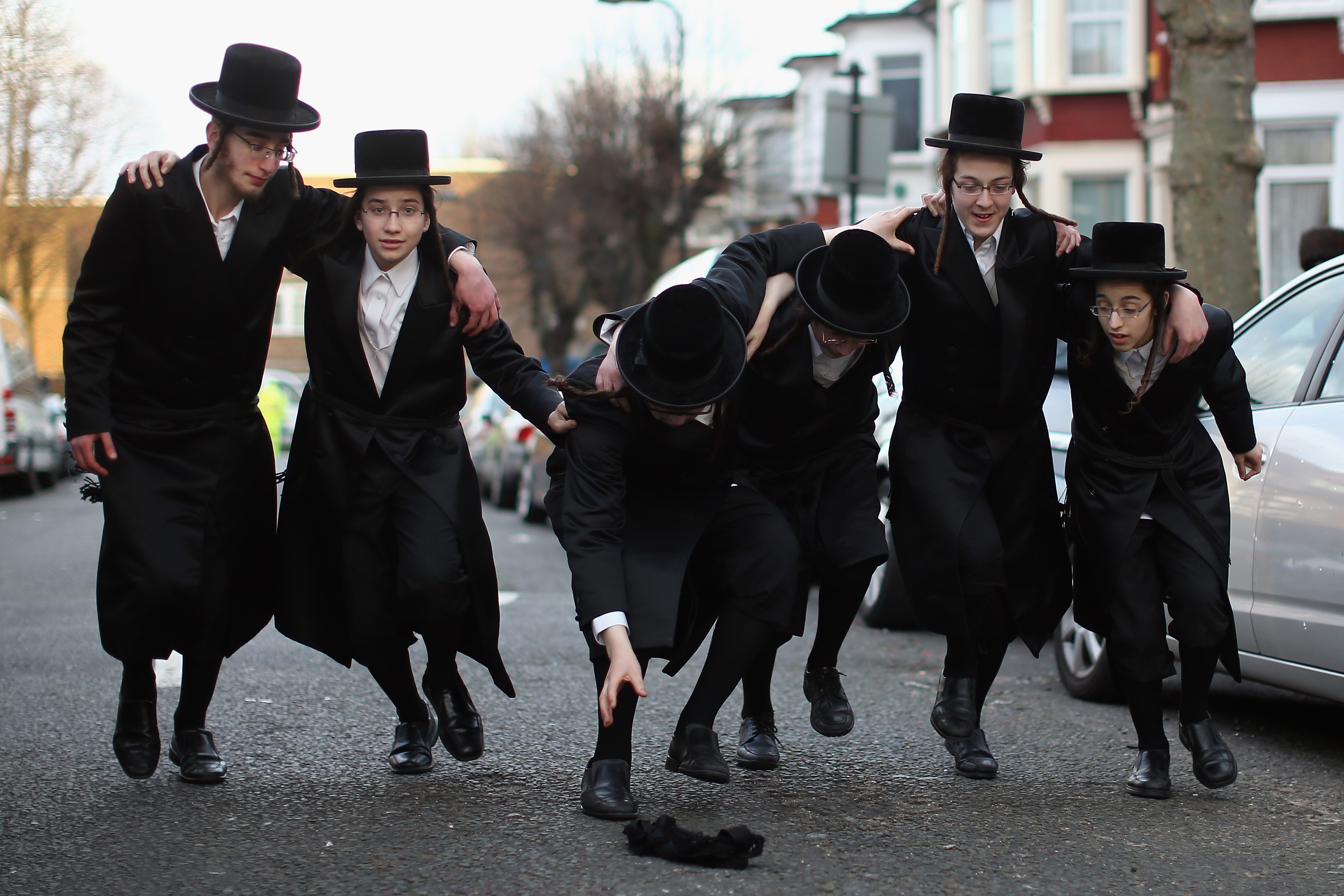 London's Jewish Community Celebrate Purim