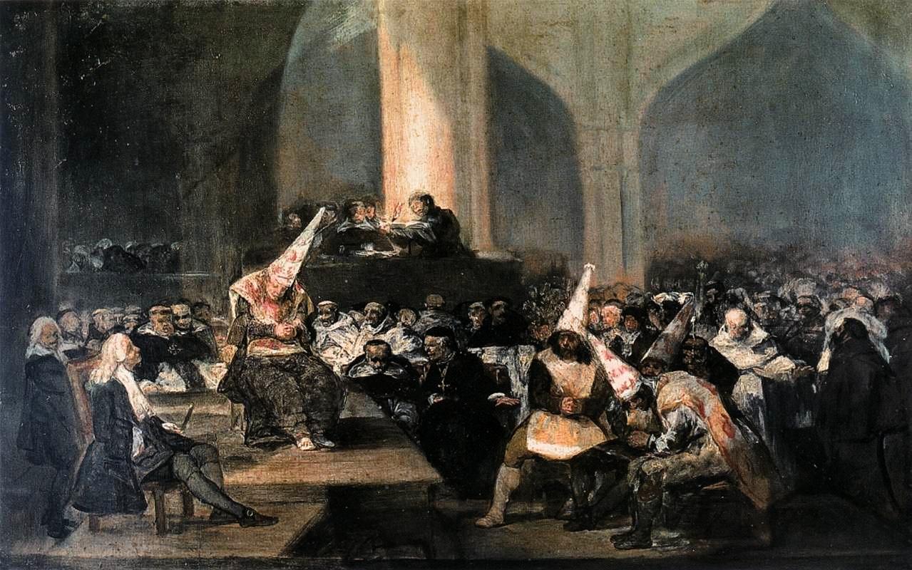 «Трибунал инквизиции», Ф. Гойя (1812—1819)