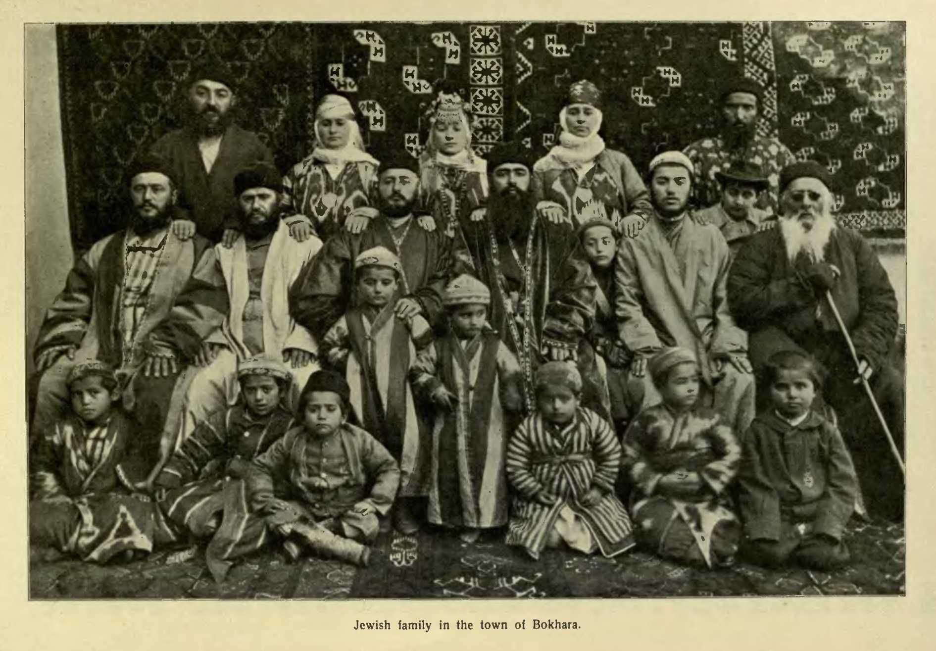 Народы Узбекистана. Евреи среднеазиатские (бухарские, афганские и иранские)